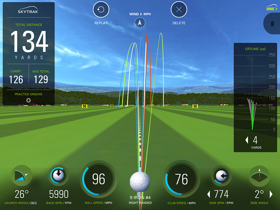 Club Fitting Data